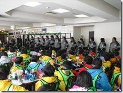 6①.スキー教室開校式の様子